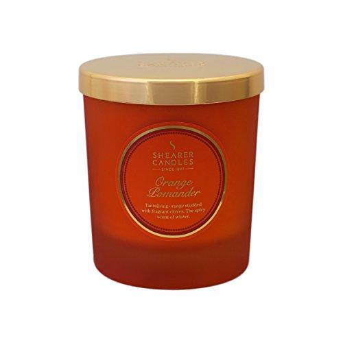 Shearer Candles SCC703 - Vela de Invierno con diseño Victoriano, Color Naranja