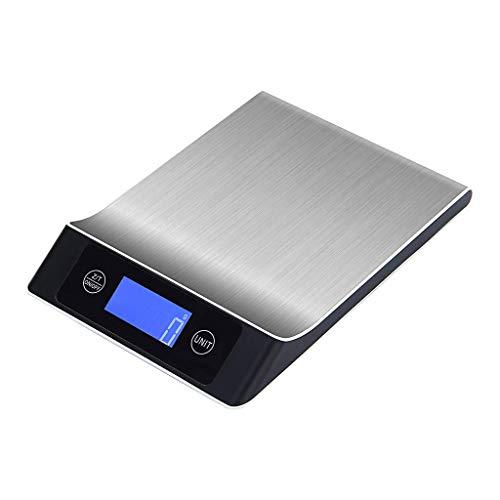 LLDKA 1g precisie roestvrij staal elektronische keukenweegschaal weegschaal digitale multifunctionele kookbakkeukenweegschaal elektronische weegschaal