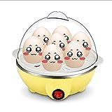 Bathrooms Egg Cooker Cocedor de Huevos Eléctrico/con Capacidad de 1-7Huevos/ Acero Inoxidable/350W/Apagado Automático