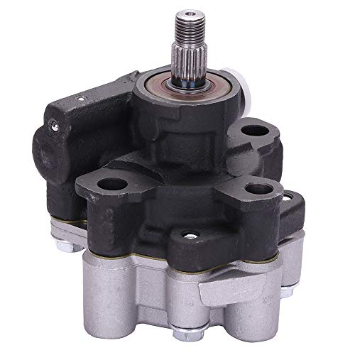 ANPART Power Steering Pump fit for 1998 1999 2000 for Chevrolet Prizm, 1998 1999 2000 for Toyota Corolla(Without Pulley)