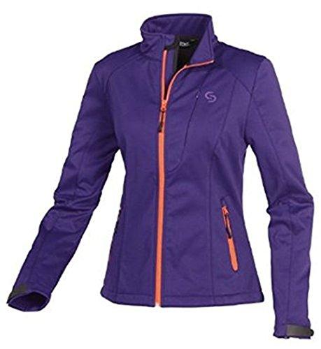 Damen Softshell Jacke Softshelljacke Sportjacke Outdoor Lila Größe S 36/38