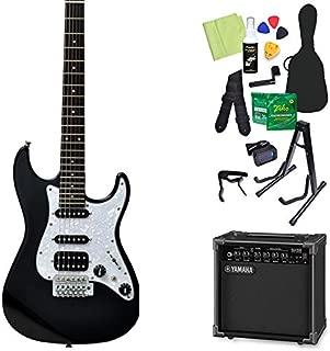 Bacchus GS-Mini BLK エレキギター 初心者14点セット 【ヤマハアンプ付き】 ユニバース シリーズ 【ダウンサイズ】 バッカス