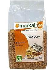 MARKAL RGANIC SEEDS GOLDEN FLAX SEEDS FROM FRANCE 250GM; ماركال 250 غ بذور الكتان الذهبية العضوية
