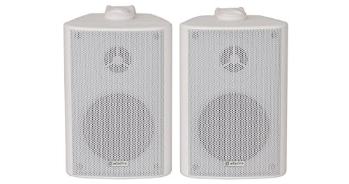 Adastra | High Quality Stereo Speakers  Supplied In Pairs | 60W Max | White