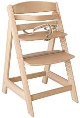 roba trappa barnstol Sit Up III, med växande barnstol från baby barnstol till ungdomsstol, trä, naturliga färger