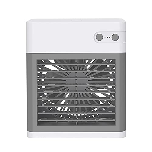 KoelrMsd Portable Air Conditioner Silent Bladeless Fan Adjustable Air Outlet With Three-speed Wide-angle Air And Fast Cooling Function