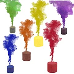🌈 Totally safe grenade that emits a colored smoke that fills the air and creates breathtaking photos. Takes off in gorgeous clouds of color, creating a dreamy backdrop that's completely ethereal. 🌈 Color: red, yellow, orange, blue, green, purple. You...