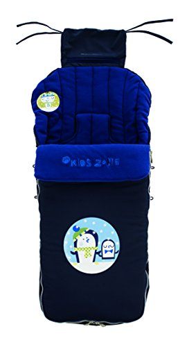 Jané Saco para silla Nest Plus, Interior Polar, Impermeable, Universal, con Cremallera, Color Atlantic