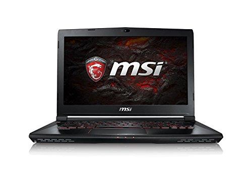 MSI Gaming GS43VR-6REAC16H21 (Phantom Pro) 2.6GHz I7-6700HQ 14' 1920 x 1080Pixeles Negro - Ordenador portátil (Portátil, Negro, Concha, Juego, I7-6700HQ, Intel Core i7-6xxx)