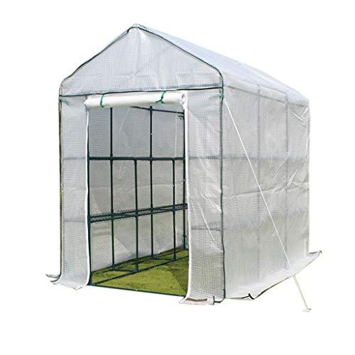 Serres de Jardin Tunnel Mini Chaude portative pour l'hiver, Verte de Jardin d'envergure d'intérieur d'intérieur d'usine de Tomate Tomate (Taille : 70×140×195CM)