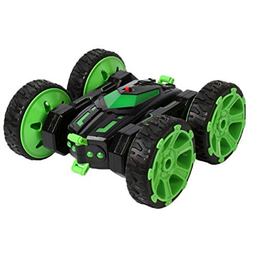 WZRYBHSD Control Remoto Stunt Car 360 Grados Giratorio De Doble Cara Control Remoto Stunt Racing Toy Car Vehículos De Carreras Todoterreno para Niños Cumpleaños Regalo De Año Nuevo