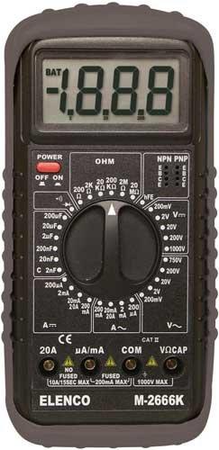 Elenco M2666K Multimeter Kit