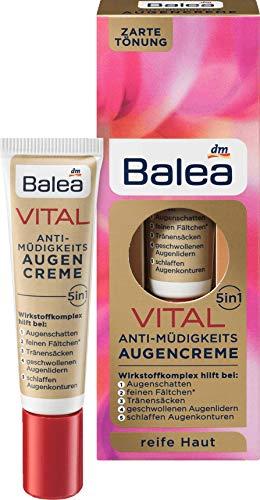 Balea Vital Anti Müdigkeits Augencreme, 15 ml