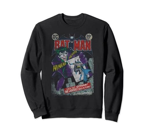 Batman #251 Distressed Laughing Joker Sudadera