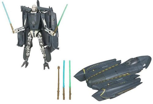 STAR WARS Transformers ab 5 Jahre General Grievous to Grievous Starfighter HASBRO 87654