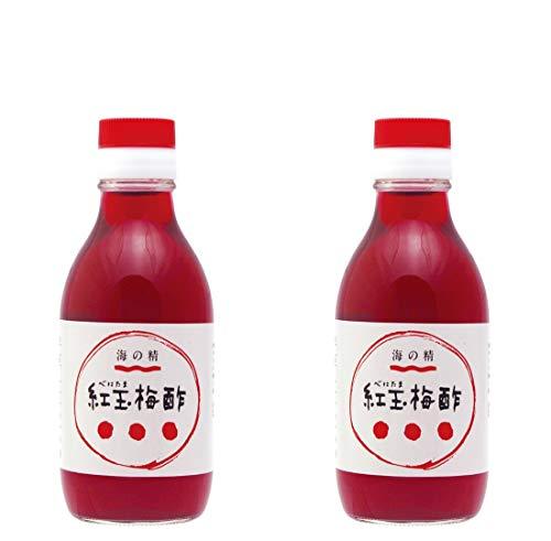 海の精 紅玉梅酢 200ml ×2セット