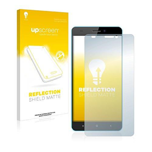 upscreen Entspiegelungs-Schutzfolie kompatibel mit Oukitel C3 – Anti-Reflex Bildschirmschutz-Folie Matt