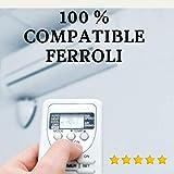 Mando Aire Acondicionado FERROLI - Mando a Distancia Compatible 100% con Aire Acondicionado FERROLI Entrega en 24-48 Horas. FERROLI MANDO COMPATIBLE