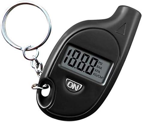 Tire Pressure Gauge Keychain LCD Digital Tire Tyre Air Pressure Gauge Car Auto Motorcycle Tyre product image