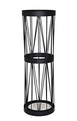 Mango Steam Pluvian Soakstone Umbrella Holder (Tall, Black)