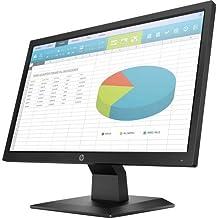 "HP P204 19.5"" HD+ Monitor Black - 1600 x 900 HD+ Display - 60 Hz Refresh Rate - in-Plane..."