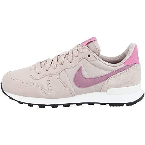 Nike Low Internationalist - Zapatillas deportivas para mujer, color Beige, talla 43 EU