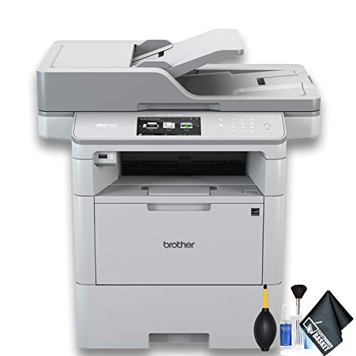 Brother MFC-L6900DW Monochrome Laser All-in-One Printer (MFC-L6900DW) Essential Bundle