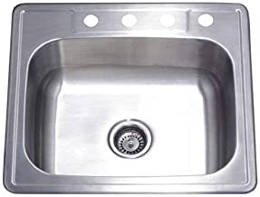 25x22x8 stainless steel sink