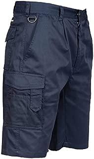 Portwest US790NARL Regular Fit Cargo Shorts, Large, Navy