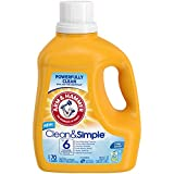 Arm & Hammer Clean & Simple, 70 Loads Liquid Laundry Detergent, 122.5 Fl oz