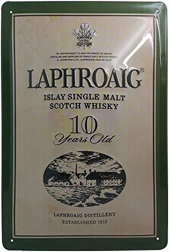 Islay Singel Malt Scotch Whisky Blechschild, hochwertig geprägtes Retro Werbeschild, Türschild, Wandschild, 30 x 20 cm