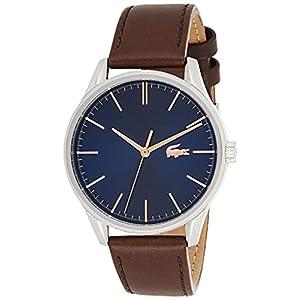 Lacoste Watch 2011046 8 Bijoutier Boutique Mouvementà 3 yeux Épaisseur du boîtier 8,4 mm / diamètre du boîtier 42 mm Cadran Sunray en bleu