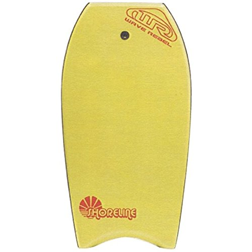 Wave Rebel ebb0019Bodyboard Amarillo Talla 39