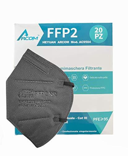 20x ARCOM - FFP2 Masken - CE Zertifikat - 20 Stück