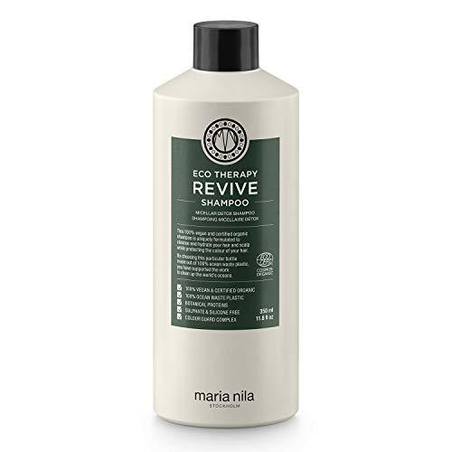 Maria Nila, Eco Therapy Revive Shampoo Mizellen Reinigungsshampoo mit natürlichen Inhaltsstoffen, transparent, 350 ml