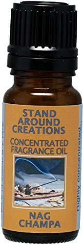 Concentrated Fragrance Oil - Nag Champa: Has the aroma of incens