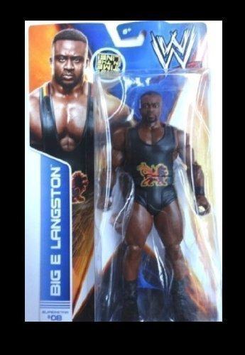 Mattel WWE Figurine du catcheur Big E Langston