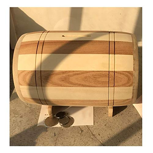 Caja de alcancía Estilo Simple Pastoral Hucha Que cambie la Caja de Gran Capacidad Cash Box Perfecto Regalo de la Moneda de Papel Caja de Dinero Hucha Caja de Banco higgy Caja Fuerte