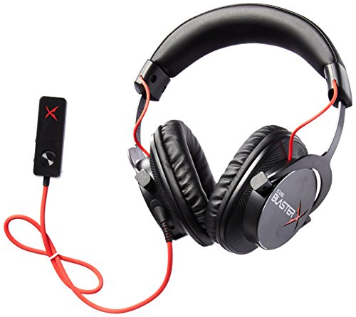 Creative Sound BlasterX H7 Tournament Edition HD 7.1 Surround Sound Gaming Headset