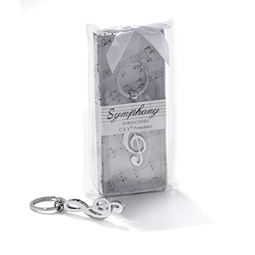 Idée cadeau, Bonbonnière Porte-clés avec Clé de sol.