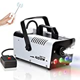 Amitito Fog Machine with Lights 400W Disinfection LED Smoke Machine...