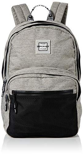 Superdry Damen Hayden Backpack Rucksack, Grau (Grey Marl), 35x20x45 cm
