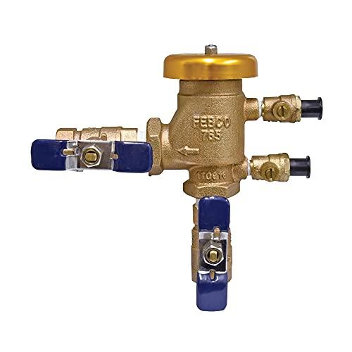 Febco 765CBV 1/2 inch Pressure Vacuum Breaker with Quarter Turn Shutoff,