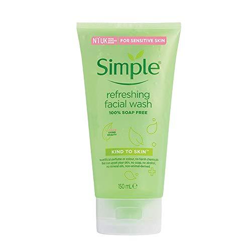 Simple Refreshing Facial Gel Wash