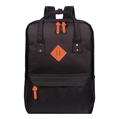 Advocator Sac à bandoulière 15,6 pouces Sac à main portable Vintage School Sac à dos Casual Daypacks