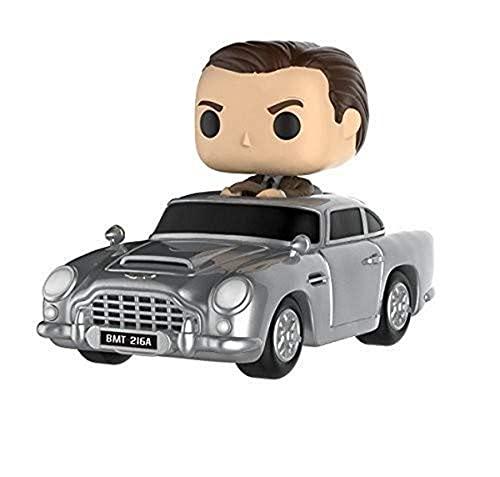 Funko- James Bond Aston Martin et Sean Connery Figurine, 24820