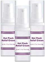 Hot Flash Relief Cream/Estro 500-3 Bottles