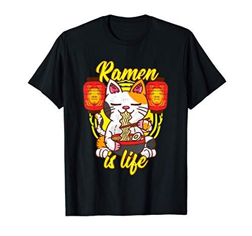 Ramen - Cat Noodles Soup - Restaurant - Kawaii Cat Kitten...