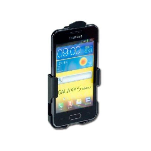 Handycop® Premium Handyhalter Fahrrad für Samsung I9070 Galaxy S Advance - Lenker Halterung Bike Motorrad