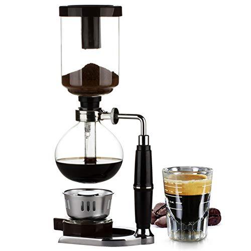 Vacuüm Siphon Koffie Makers, Gemaakt van Hoge Temperatuur Resistant Glas, Beugels, Filters, Etc, Gemakkelijk te gebruiken, Duurzaam, Geschikt voor Restaurant, Keuken